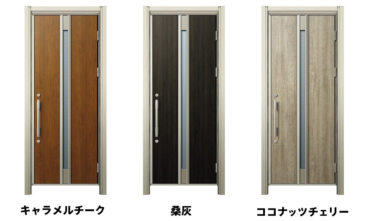 YKKの片開きドア
